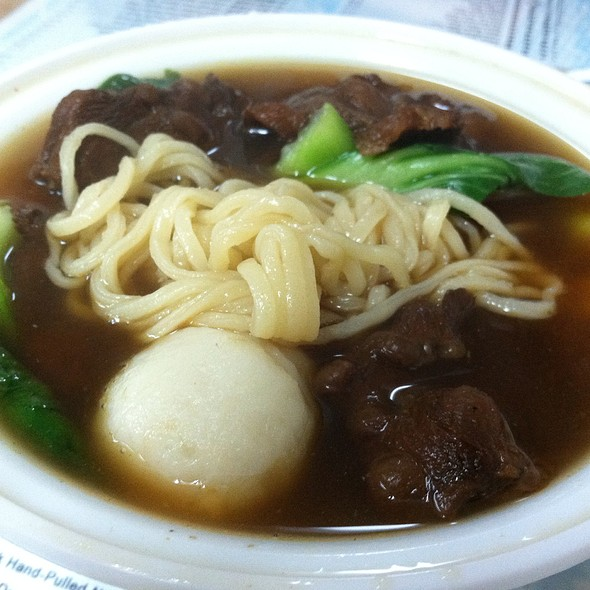 Beef Hand Pulled Noodle Soup @ Sheng Wang