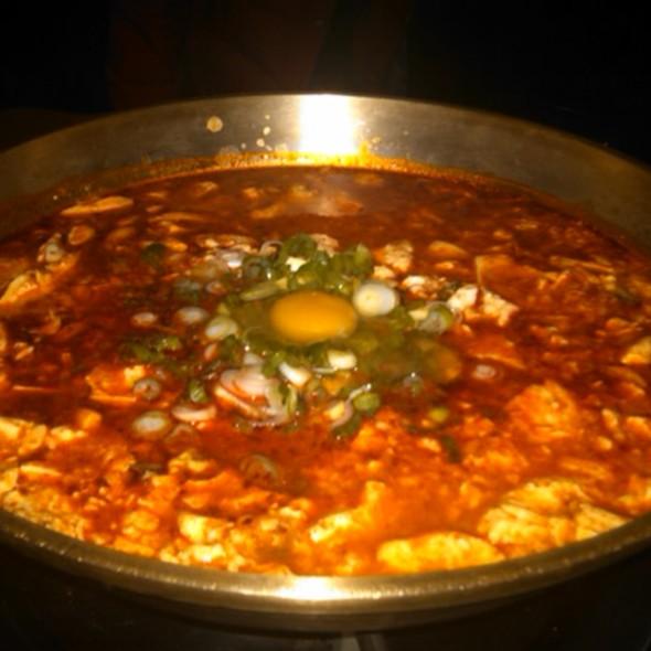 Seafood Tofu @ Gam Mee Ok TANG