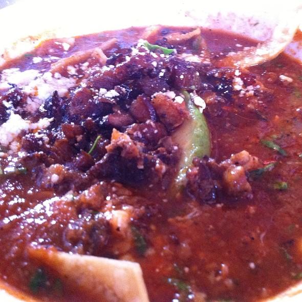 Tortilla Soup Con Al Pastor @ Juanita Juanita