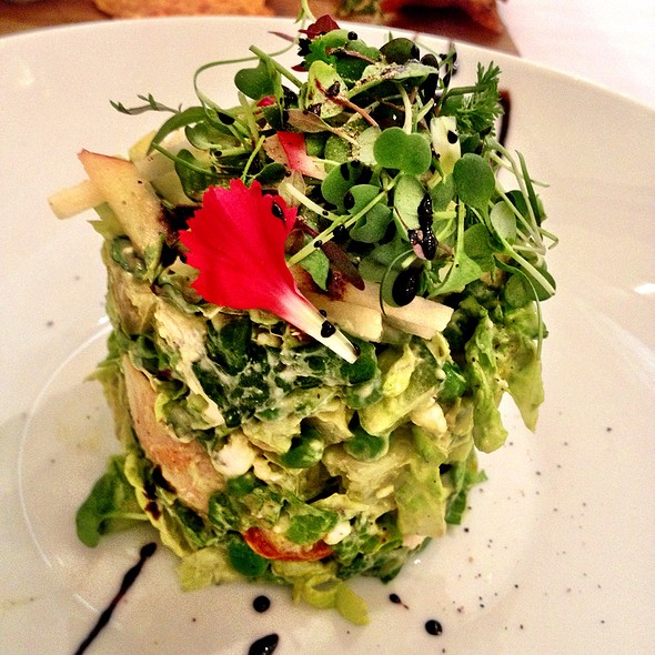 Chicken Chop Salad - The Georgian, Seattle, WA