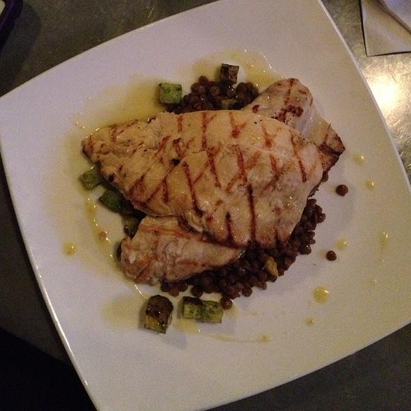 Butterflied Grilled Trout - Sprig Restaurant, Decatur, GA