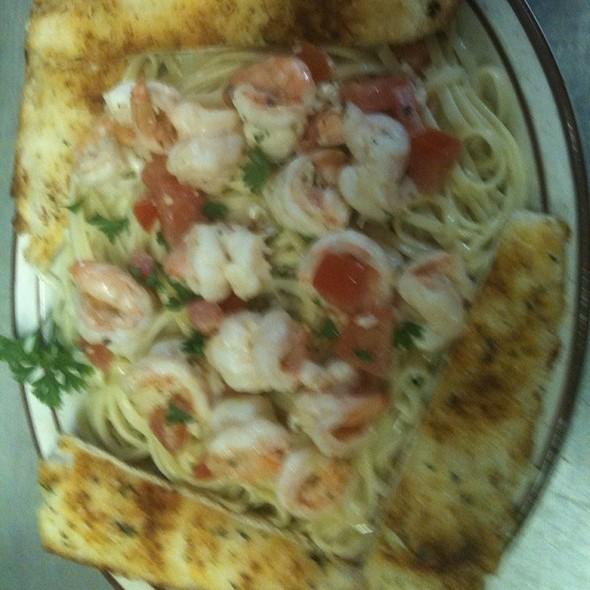 Shrimp Scampi @ KrisCroix's family restaurant