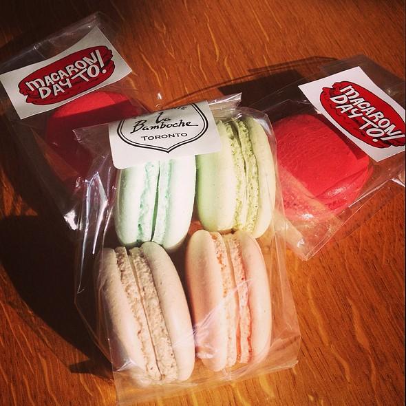 Macarons @ La Bamboche Patisserie