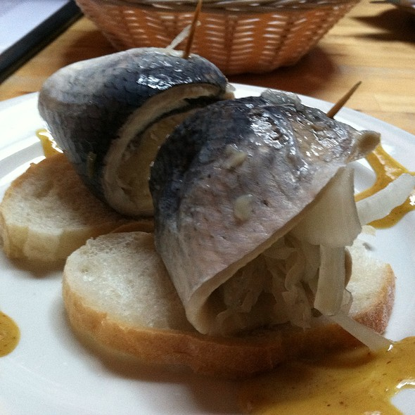 Rollmops Pickled Herring @ Lederhosen German Restaurant