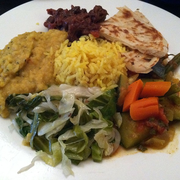 Indian Plate @ Candle Cafe