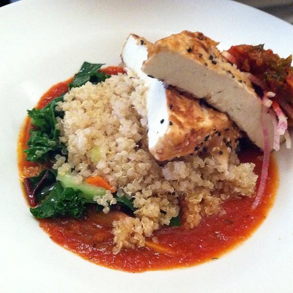 Sesame Encrusted Tofu @ Candle Cafe