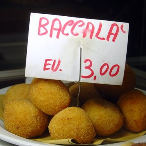Polpette di Bacala @ La Bomba