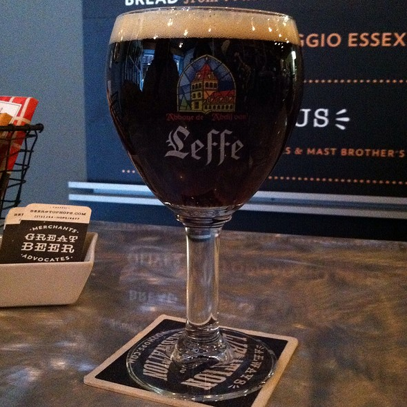 Leffe Brune Ale  @ Top Hops Beer Shop
