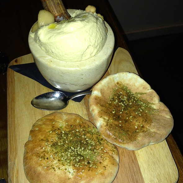 Hummus Mortar & Pestle - Balaboosta, New York, NY