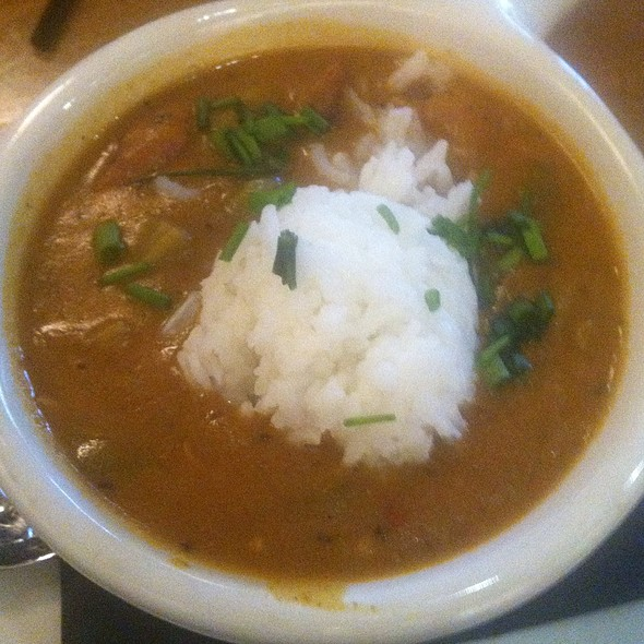 seafood gumbo @ Postmasters Grill