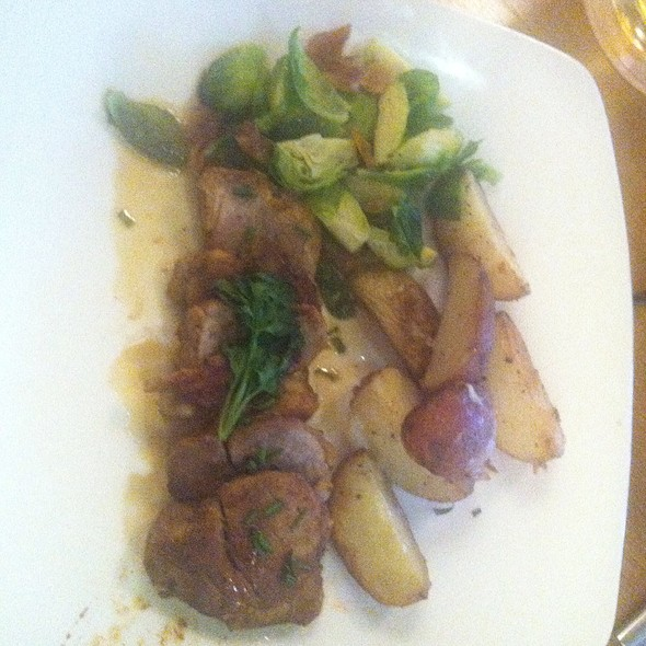 Pork Tenderloin @ Postmasters Grill