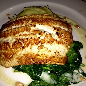 Lake Superior Grilled White Fish