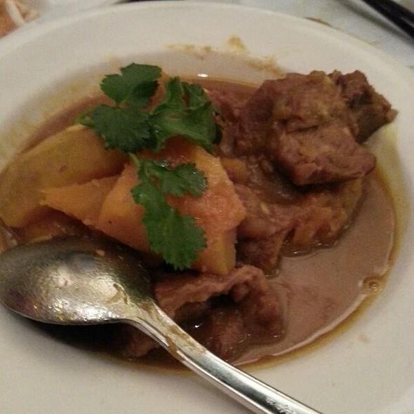 Pumpkin Pork Stew @ Burma Superstar Restaurant