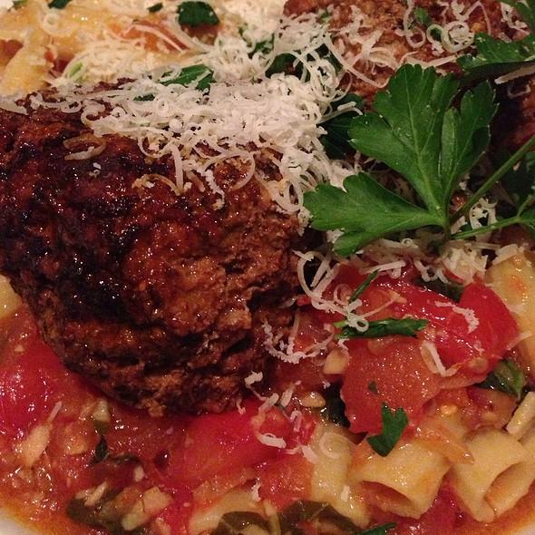 Pasta And Meatballs - Mario's Italian Restaurant, Rochester, NY