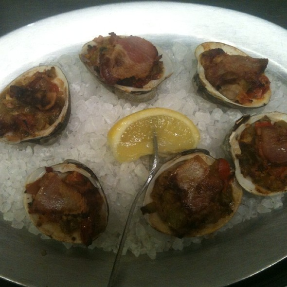 Clams Casino @ KrisCroix's family restaurant
