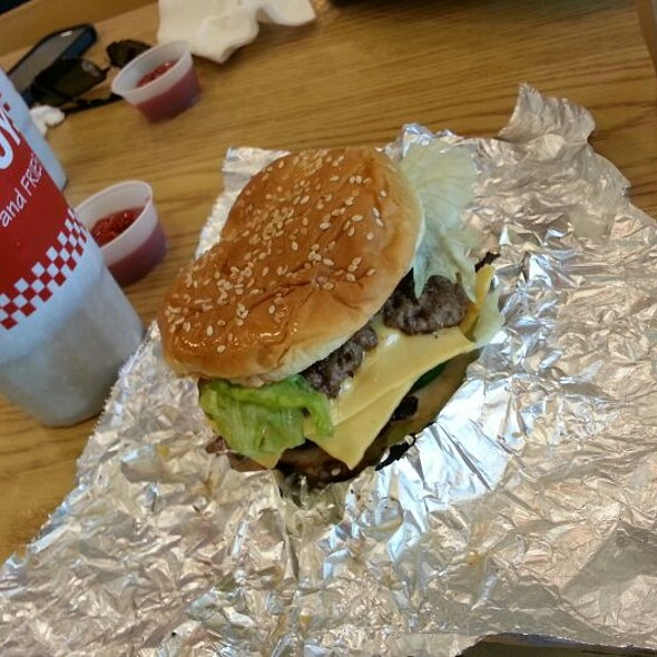 Bacon Cheeseburger @ Five Guys Burgers & Fries