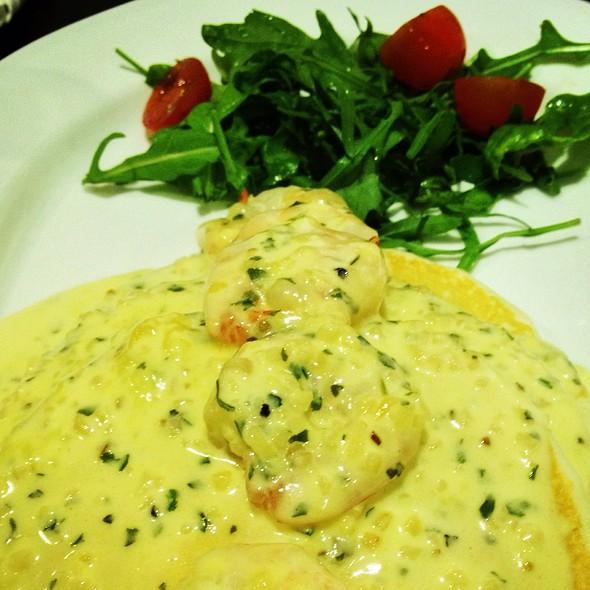 Garlic Buttered Prawns Pancake @ Strictly Pancakes