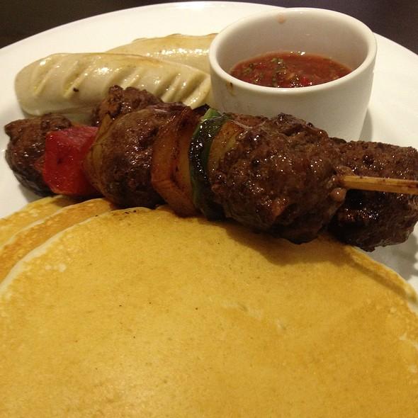 Beef Skewers Pancake @ Strictly Pancakes