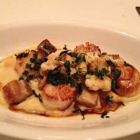 Sea Scallops - Bacchus - A Bartolotta Restaurant - Milwaukee, Milwaukee, WI