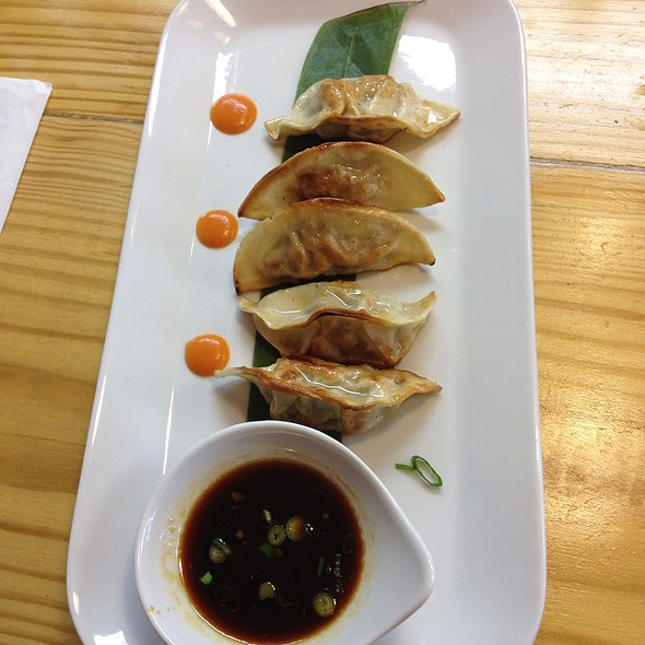 Pork Dumplings @ Kimbap