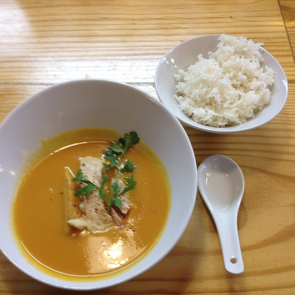 Sweet Potato Curry With Striped Bass @ Kimbap