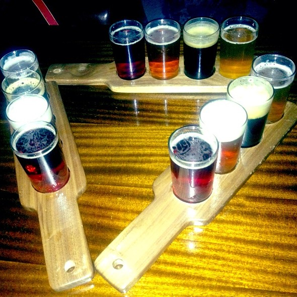 Beer Flight - The New York Beer Company, New York, NY