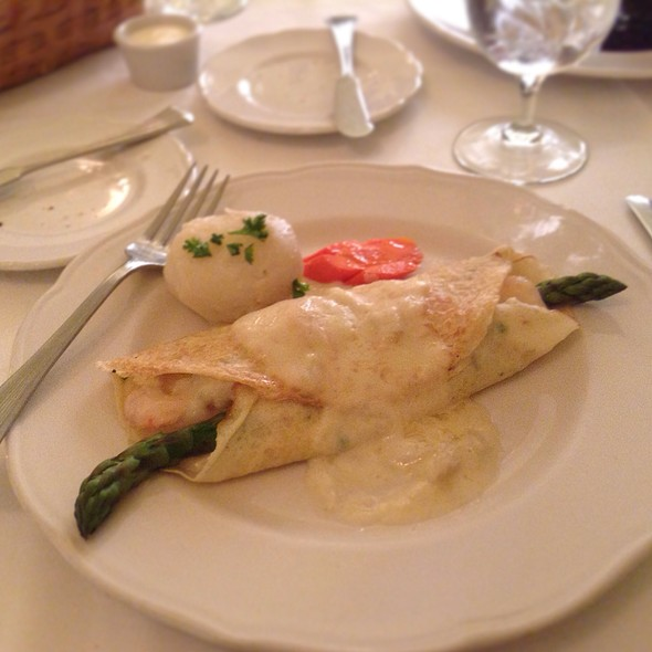 Seafood Crepe @ Maison Lacour
