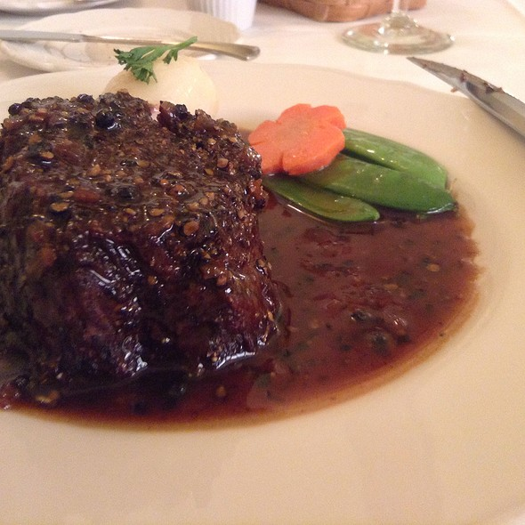 Steak Au Poivre @ Maison Lacour