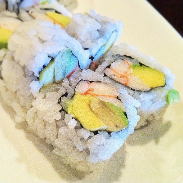 Shrimp Avocado Roll @ Sakura 2 Hibachi Grill & Sushi Bar