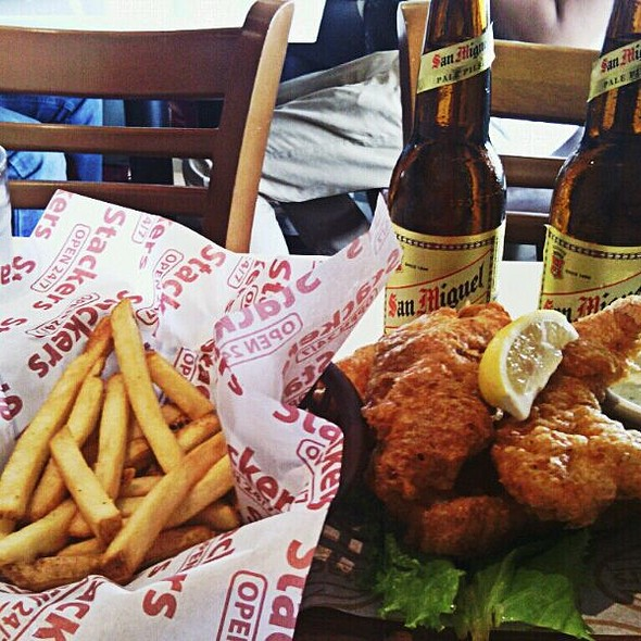 Fish and Chips @ Stackers Burger Cafe