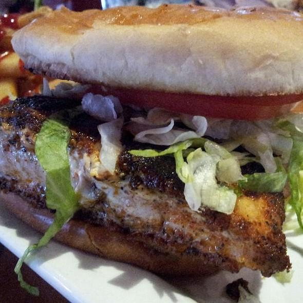 Blackened Catfish Sandwich