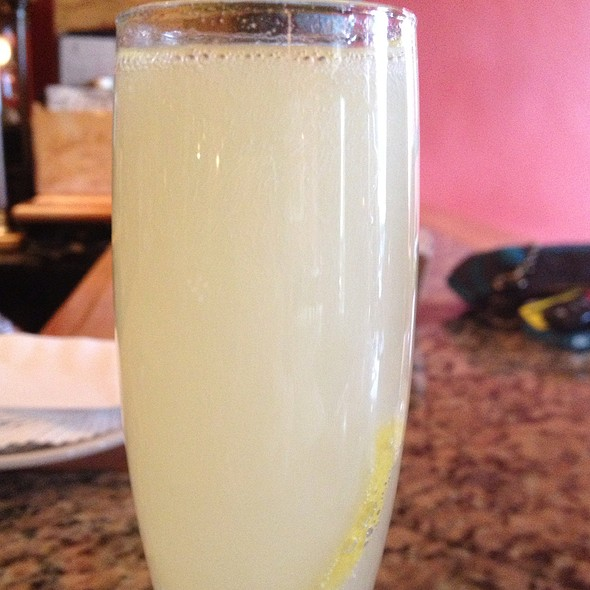 Limoncello With Sparkling Wine - Bottega, Birmingham, AL