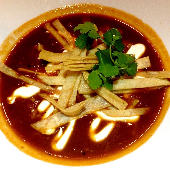Spicy Tomato and Chile Soup