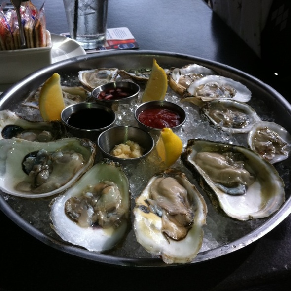 Blue Point Oysters - City Oyster & Sushi Bar, Delray Beach, FL