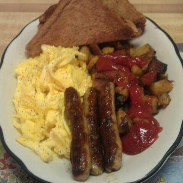 2 Eggs Hash  Toast 3 Sausage