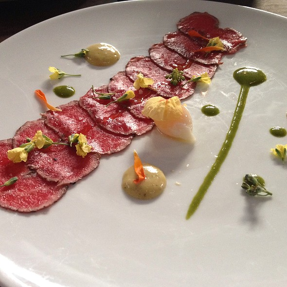 Spring Lamb Carpaccio @ Underbelly
