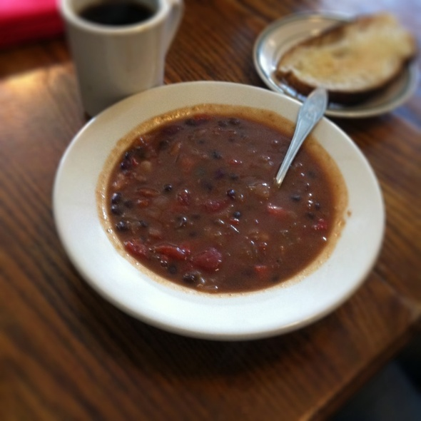 vegan chili @ Second Stop Cafe