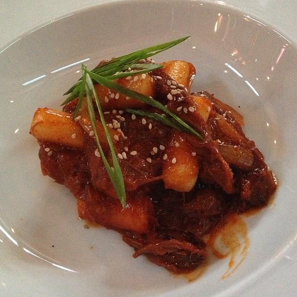 Braised Korean Goat With Dumplings @ Underbelly
