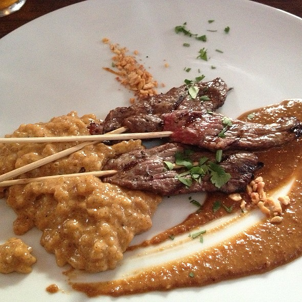 Wagyu Satay With Red Curry Tapioca @ Underbelly