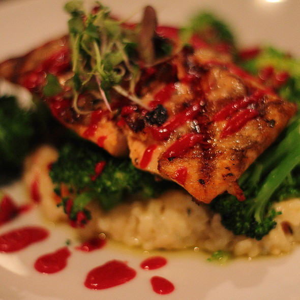 Grilled Salmon @ Second Street Restaurant