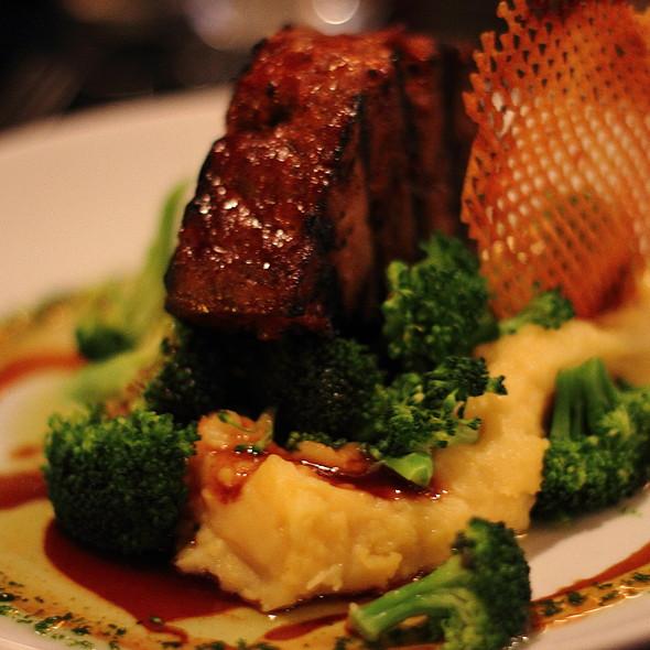 Grilled Bison Meatloaf @ Second Street Restaurant