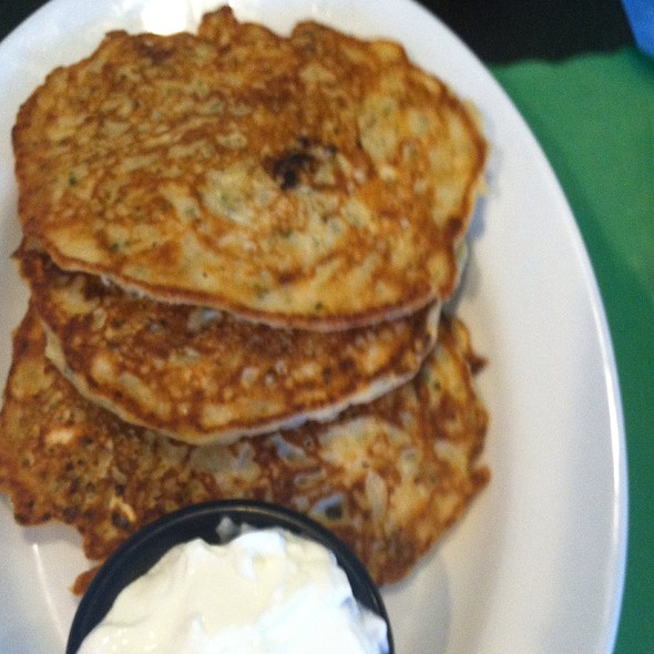 Potatoe Pancakes @ Lil' Turtles