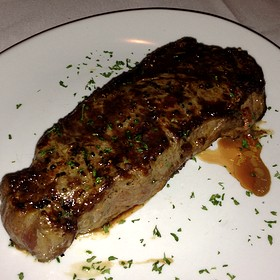 New York Strip - Fleming's Steakhouse - Austin, Austin, TX