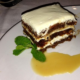 Carrot Cake - Fleming's Steakhouse - Austin, Austin, TX