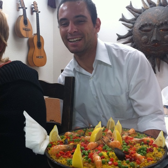 Paella Served With A Smile