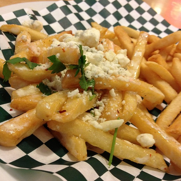 Blue Cheese Fries @ Silver Skillet Restaurant