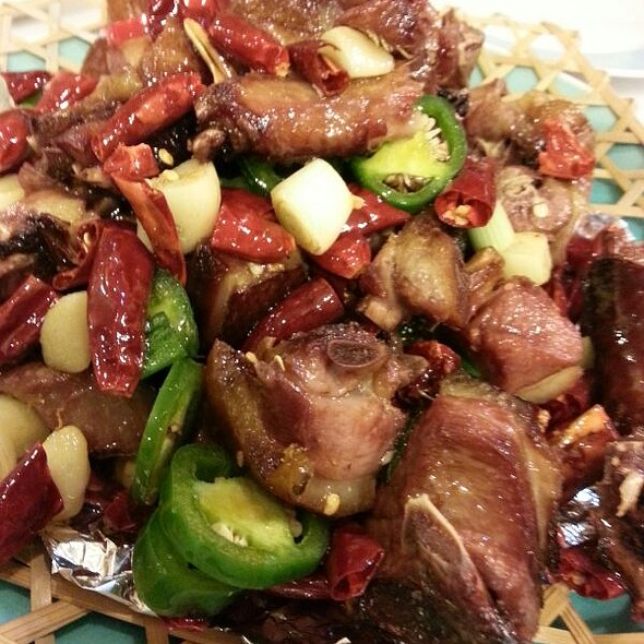 Spicy Tea Smoked Duck @ Sichuan Home