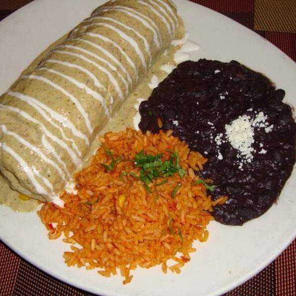 Chicken Burrito - Tacos & Tequila - Luxor, Las Vegas, NV