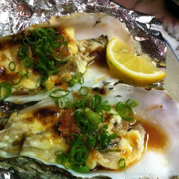 Oysters Morio Style @ Morio's Sushi Bistro
