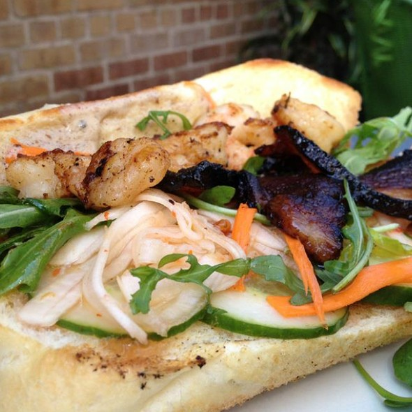 Shrimp and Pork Belly Banh Mi